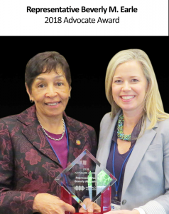 Beverly-Earle-2018-Winner-238x300 Congratulations Representative Beverly Earle!-2018 NC PACE Advocate Award Winner